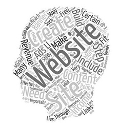 Quick and Easy Steps To Build Your Website s vector image