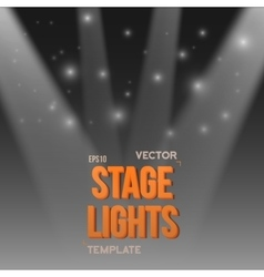 Stage Light Effect EPS10 Bright Stage vector image