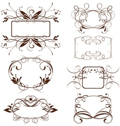 Vintage ornate frame vector