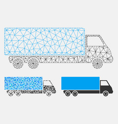 Wagon mesh network model and triangle vector