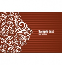 decoration background vector image vector image