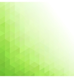 Abstract green geometric technology background vector image