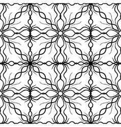 Seamless Abstract Hand Drawn Pattern vector image vector image