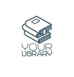 Your library isolated icon vector image