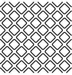 Abstract geometric monochrome repeating square vector