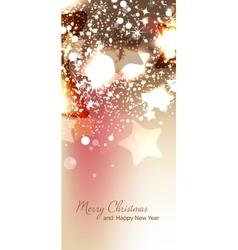 Christmas card New year vector
