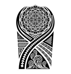 Ethnic tattoo 0001 vector