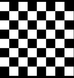 Image of a sixty-four chess board for playing vector