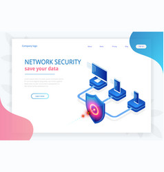 Isometric protection network security and safe vector