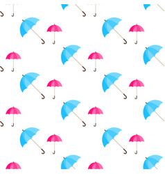 Rainwater umbrella seamless pattern vector