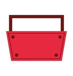 tool kit box construction repair design vector image