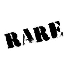 Rare rubber stamp vector image vector image