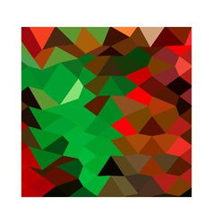 Bice Green Abstract Low Polygon Background vector image