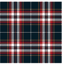 blue and red tartan plaid scottish pattern vector image