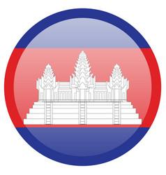 Flag cambodia accurate dimensions element vector