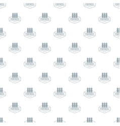 Fortress pattern seamless vector