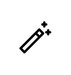 magic wand icon vector image