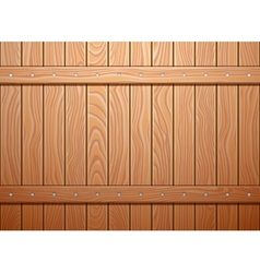 Wood wall texture background vector image