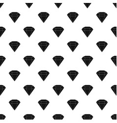 brilliant gemstone pattern vector image vector image