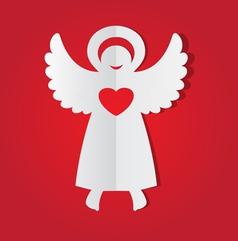 Paper angel vector