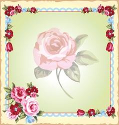 victorian floral handkerchiefs vector image vector image