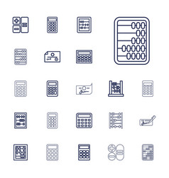 22 accounting icons vector
