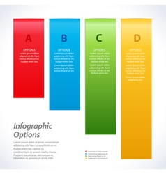 Infographic background banners vector