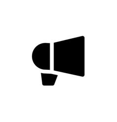 megaphone loudspeaker icon vector image
