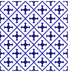 modern porcelain pattern vector image