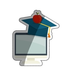 Online education elearning vector
