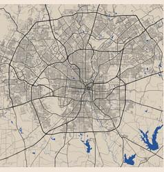San antonio map antonio city map poster map vector