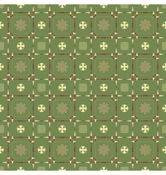 Seamless pattern with spears arrows and symbols vector