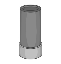 Sleeve icon black monochrome style vector
