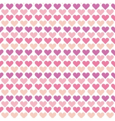 Valentine seamless polka dot pattern with colorful vector