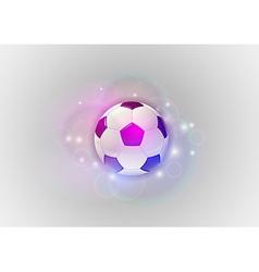 Football abstract ball vector