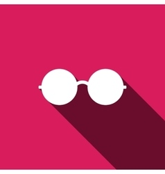 Glasses Icon Elements for vector image vector image