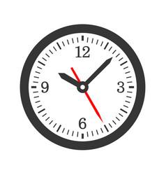 mechanical circle clock dial set vector image vector image