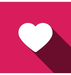Heart love icon eps 10 and jpg vector image