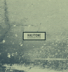 Abstract halftone pattern vector