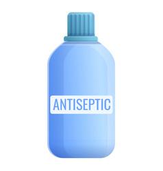 Antiseptic bottle icon cartoon style vector