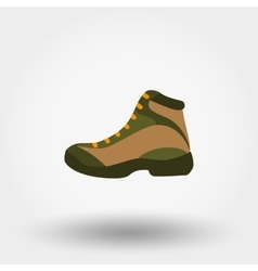 Boot Icon Flat vector