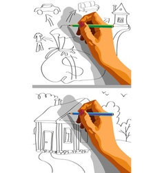 draw property vector image