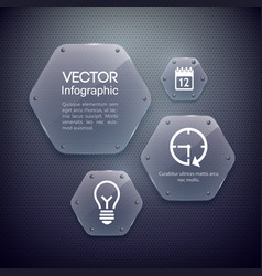 Infographic web design concept vector