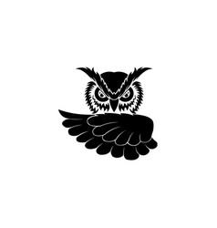Inspiration owl logo vector