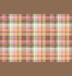 Lite color textile check seamless pattern vector