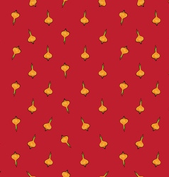 Onion sparse pattern red vector