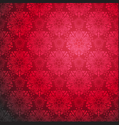 red ornamental seamless vector image