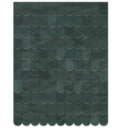 Roof clay tiles texture beautiful banner vector