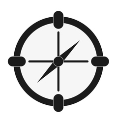 single compass icon vector image