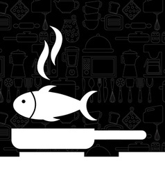 cooking food vector image